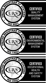 URS Certificate of Registration ISO 9001:2015